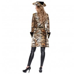 Tiger Mantel für Damen