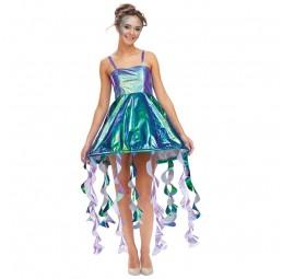 Quallen Kleid für Damen