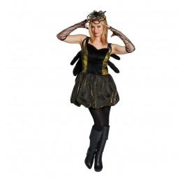 Spinnen Kostüm für Damen