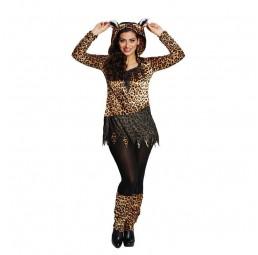 Leoparden Katzen Kostüm