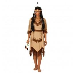Apachen-Indianerin