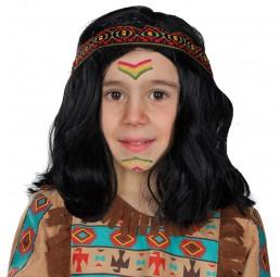 Indianer Kinderperücke