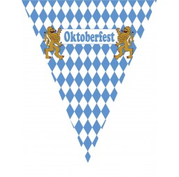 Oktoberfest - Wimpelkette 5m