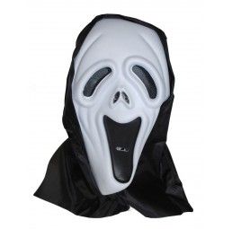 Screaming ghost Maske mit...