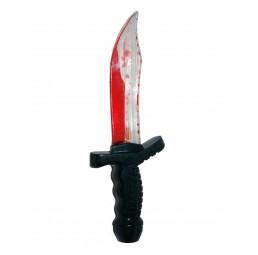 Halloween Messer mit Blut