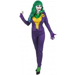 Mad Joker Kostüm für Damen