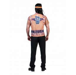 3D T-Shirt Indianer Kostüm