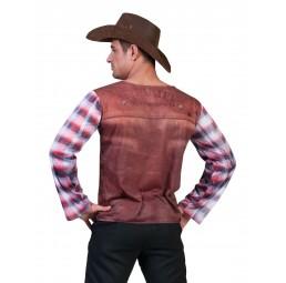 3D T-Shirt Cowboy Kostüm