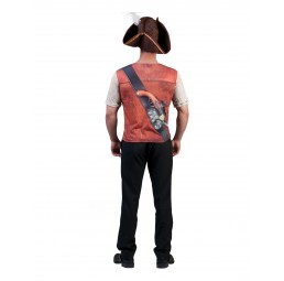 3D T-Shirt Pirat Kostüm