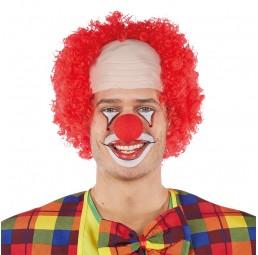 Rote Clown Perücke
