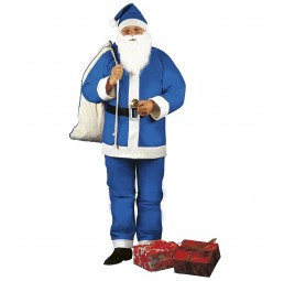 Blauer Weihnachtsmann