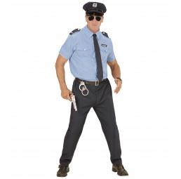 Polizist Kostüm (hellblau)
