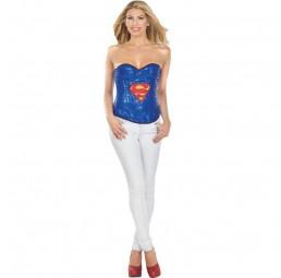 Supergirl Sequin Corset