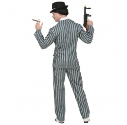 Mafia Gangster Kostüm (grau)