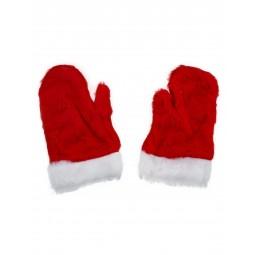 Weihnachtsmann Handschuhe...