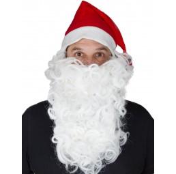 Weihnachtsmann Bart weiß