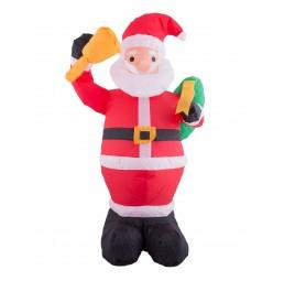 Aufblasbarer Weihnachtsmann...