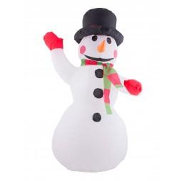 Aufblasbarer Schneemann mit...