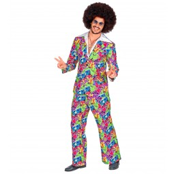 70er Jahre Groovy Style Outfit