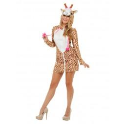 Braunes Giraffen Kostüm...