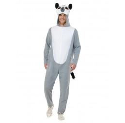 Graues Lemuren-Kostüm,...