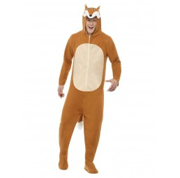 Fuchs Kostüm (Jumpsuit mit...