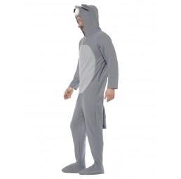 Wolf Kostüm (Jumpsuit mit...