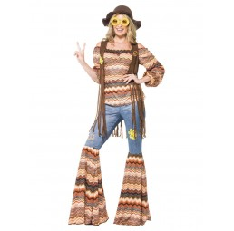 Harmony Hippie Kostm mit...