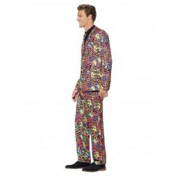 Neon Anzug (mit Jacke, Hose...