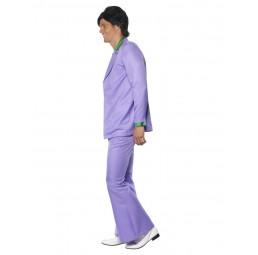 70er Jahre Anzug, Lavendel...