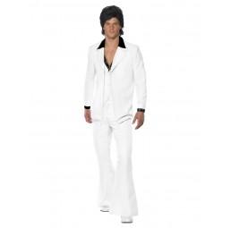 70er Jahre Anzug, Weiß...