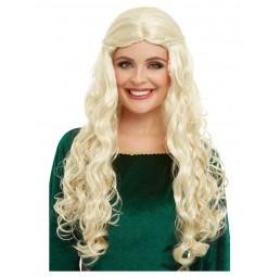 Drachenkönigin Perücke, blond