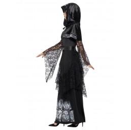Schwarze Magierin Kostüm...