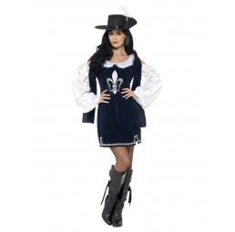 Weiblicher Musketeer Kostüm...