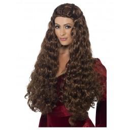 Braune Prinzessin Perücke...