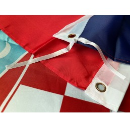 Flagge Kroatien Croatia HR...