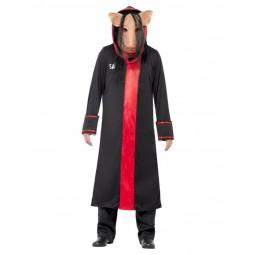 SAW Pig Kostüm mit Maske...