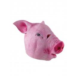 Latex Maske - Schwein Pig