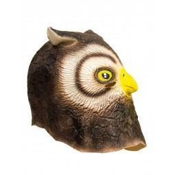Latex Maske - Eule Owl