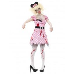 Zombie Maus Kostüm, Pink