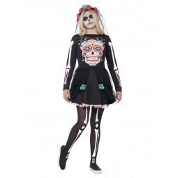 Sugar Skull Sweetie Kostüm,...