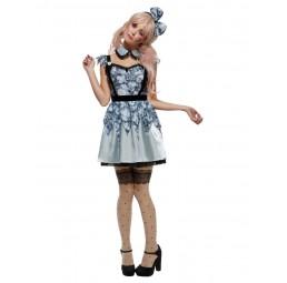 Broken Doll Annie Kostüm, blau