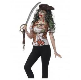 Zombie Piraten T-Shirt für...