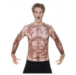 Verstümmelte Haut T-Shirt