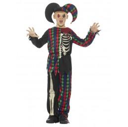Skelett Kostüm Jester,...