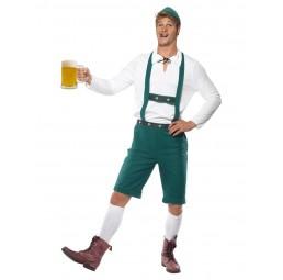 Oktoberfest Kostüm, Grün