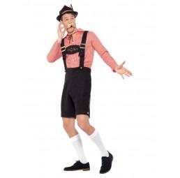 Oktoberfest Herren Kostüm, Rot