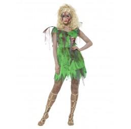 Damen Zombie Elfen Kostüm
