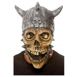 Viking Skelett Latex Maske