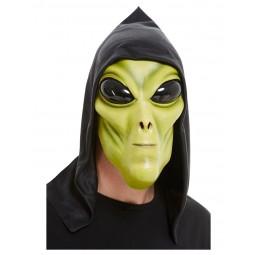 Grüne Alien Latexmaske